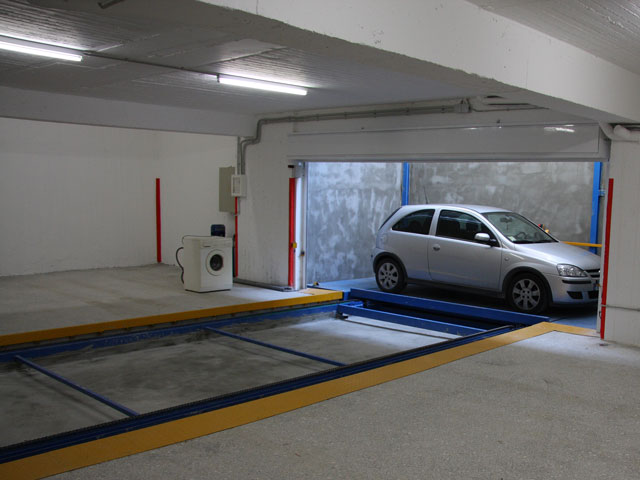 Sisteme Parcare Platforma Sliding M100
